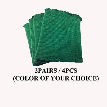 Knit/knitted Cuff, Rib Knit Fabric Cuff Hunter Green - Material for Making  Cuffs