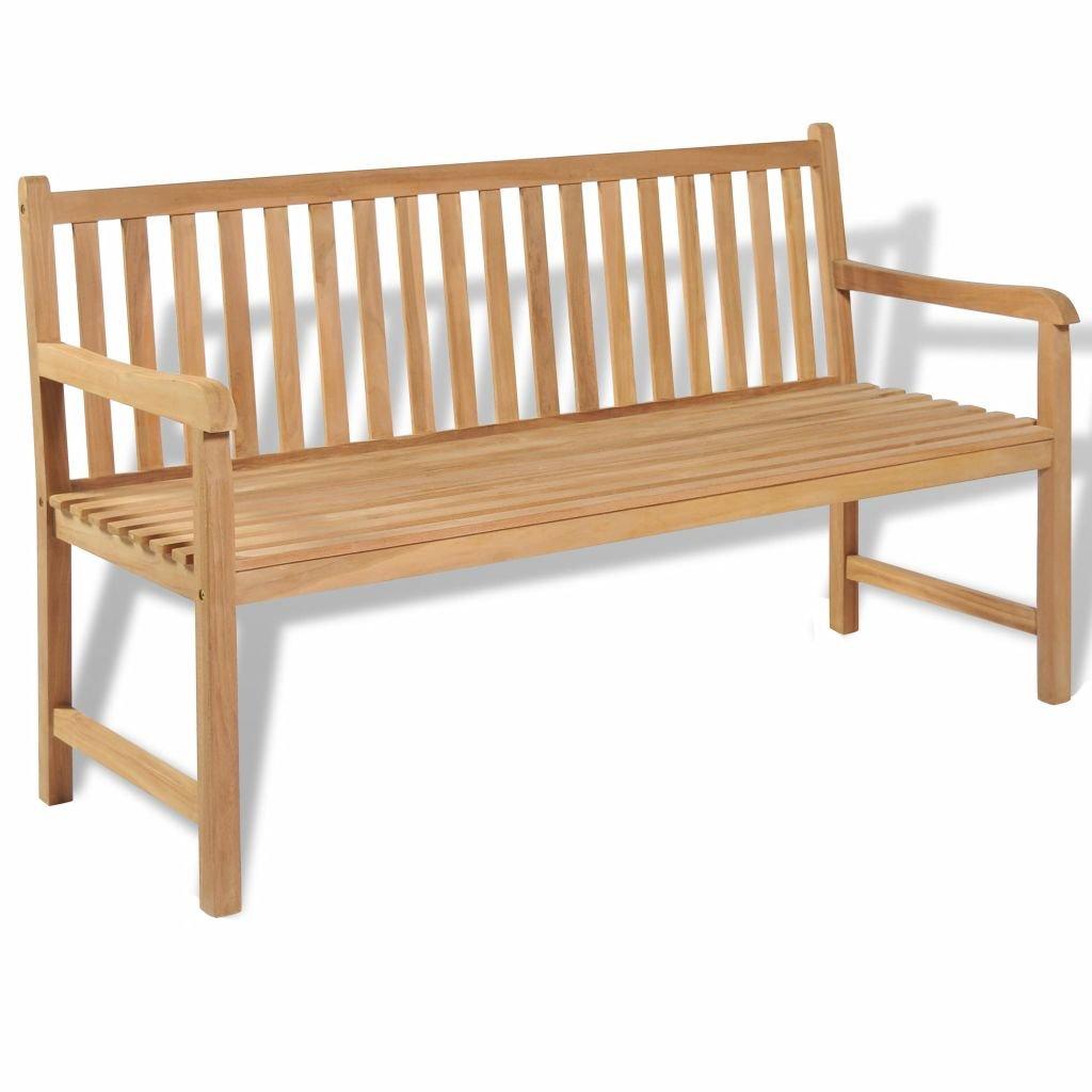 Furnituredeals Banc Dextérieur En Bois De Teck 150 X 625 X 90 Cmla