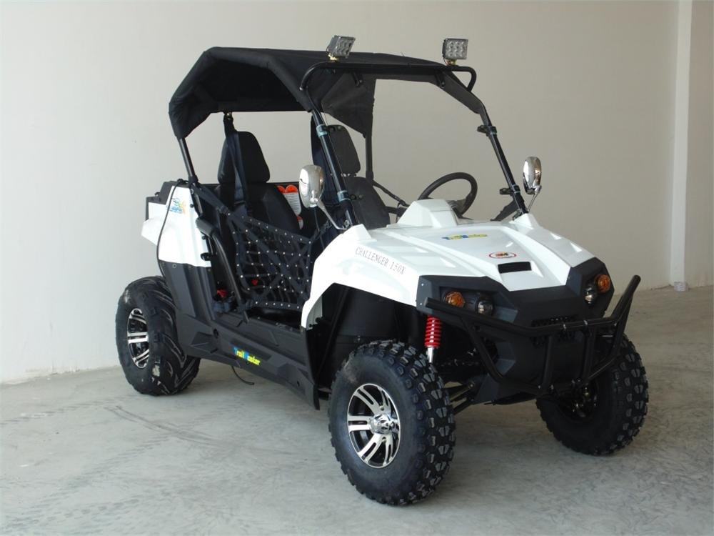 Durable UTV TrailMaster Challenger 150X Deluxe UTV Side by Side : Sports &  Outdoors