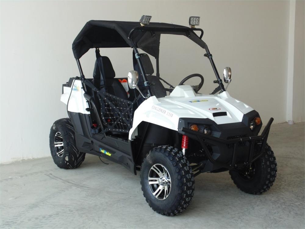 Durable UTV TrailMaster Challenger 150X Deluxe UTV Side by Side : Sports &  Outdoors