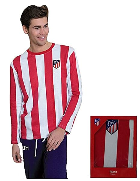 Pijama Atletico de Madrid Adulto manga larga talla L