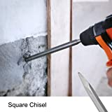 uxcell 14mm Point 20mm Flat 40mm Scraping Chisel