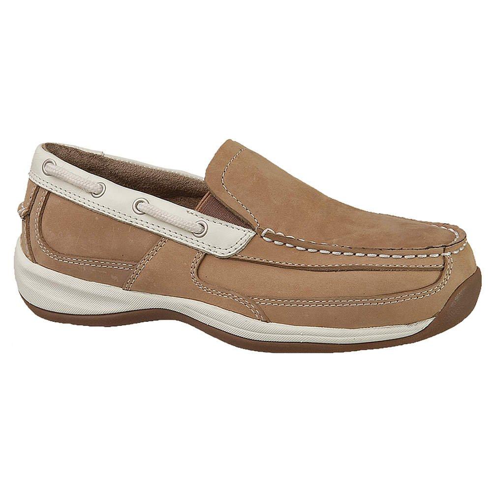 Rockport m – rk673–10 m Rockport – Frauen-Schuhe, Stahlkappe Typ, Leder Obermaterial, Tan, Größe 10 b3e254