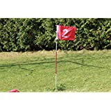 A99 Practice Golf Hole Pole Cup Flag Stick Putting Green Flagstick - 2sets