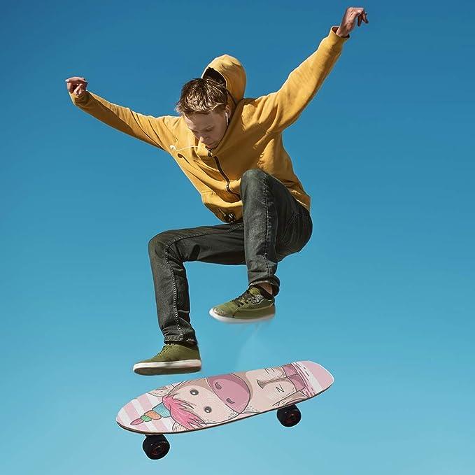 9X33 1Pcs LDIYEU Milk Cow Color Skateboard Grip Tape Sheets Creative Longboard Waterproof Griptapes for Youth Boys Girls Kids Men No Bubble Free Easy to Apply