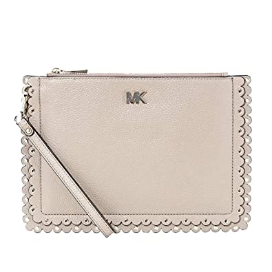 f884362320cb7 Image Unavailable. Image not available for. Color  Michael Kors Pebbled  Leather ...