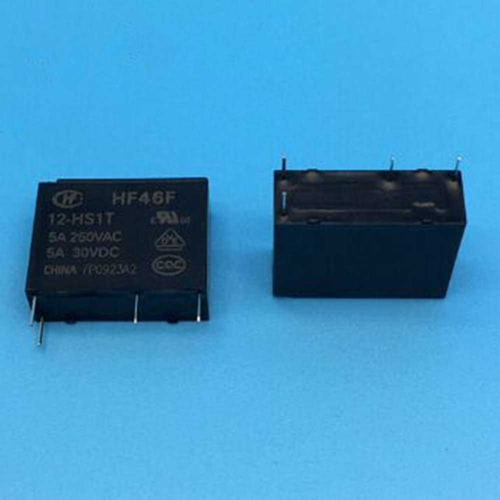 HF46F-012-HS1 12VDC 5A DIP4 46F SANYOU Relay 1From A, New and Original 5pieces/lot HONGFA