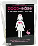 Boob-Ease Soothing Therapy Pillows for Nursing by Bamboobies - Warming & Cooling Pain Remedy - Includes Free Pair of Bamboobies Washable Nursing Pads