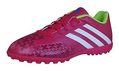 adidas Predito LZ TRX TF J Boys Football Trainers Boots Red 2.5
