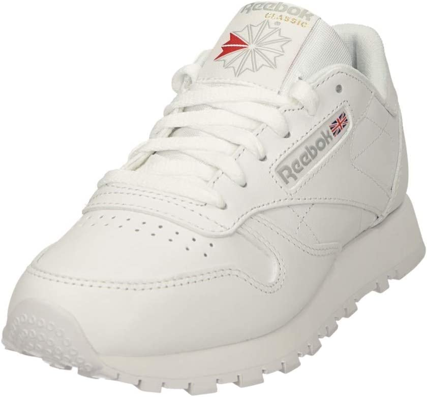 Reebok Classic Leather Sneakers voor dames Weiß Int White