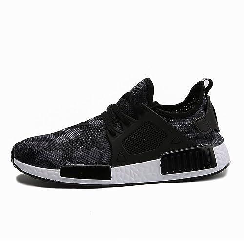 XIANV, Sneaker uomo, nero (Black), 40