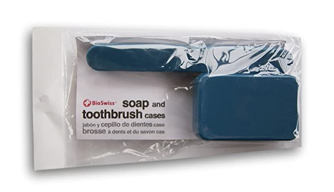 Amazon.com: BioSwiss Soap and Toothbrush Travel Cases (Turquoise): Home & Kitchen