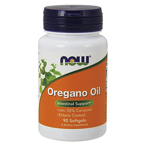 Now Foods Oregano Oil Enteric Coated Softgels 90 Capsules Pack of 2