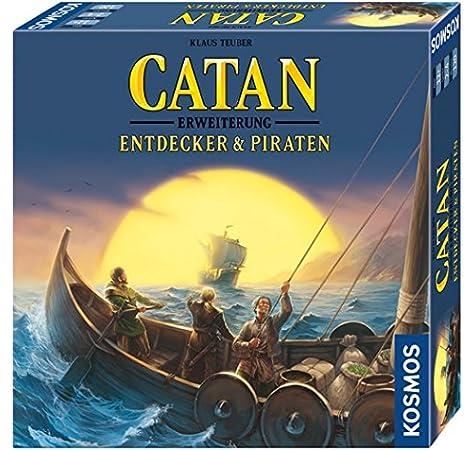 Die Siedler von Catan - Entdecker & Piraten: Erweiterung zum Basisspiel. Für 2 - 4 Spieler: Amazon.es: Teuber, Klaus: Libros en idiomas extranjeros