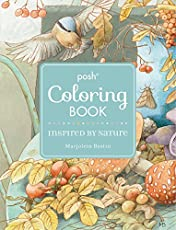 Posh Coloring Books Low Cost Smaller Sized For Easy On The Go Art