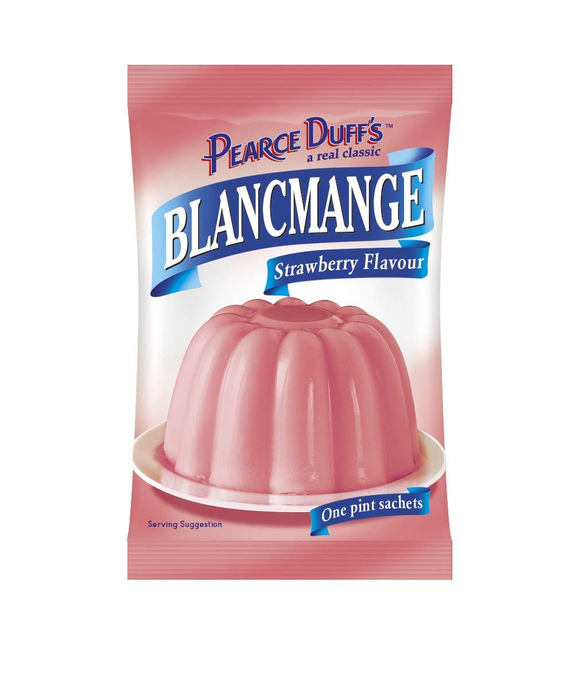Pearce Duff's Strawberry Blancmange 35g (Pack of 12)