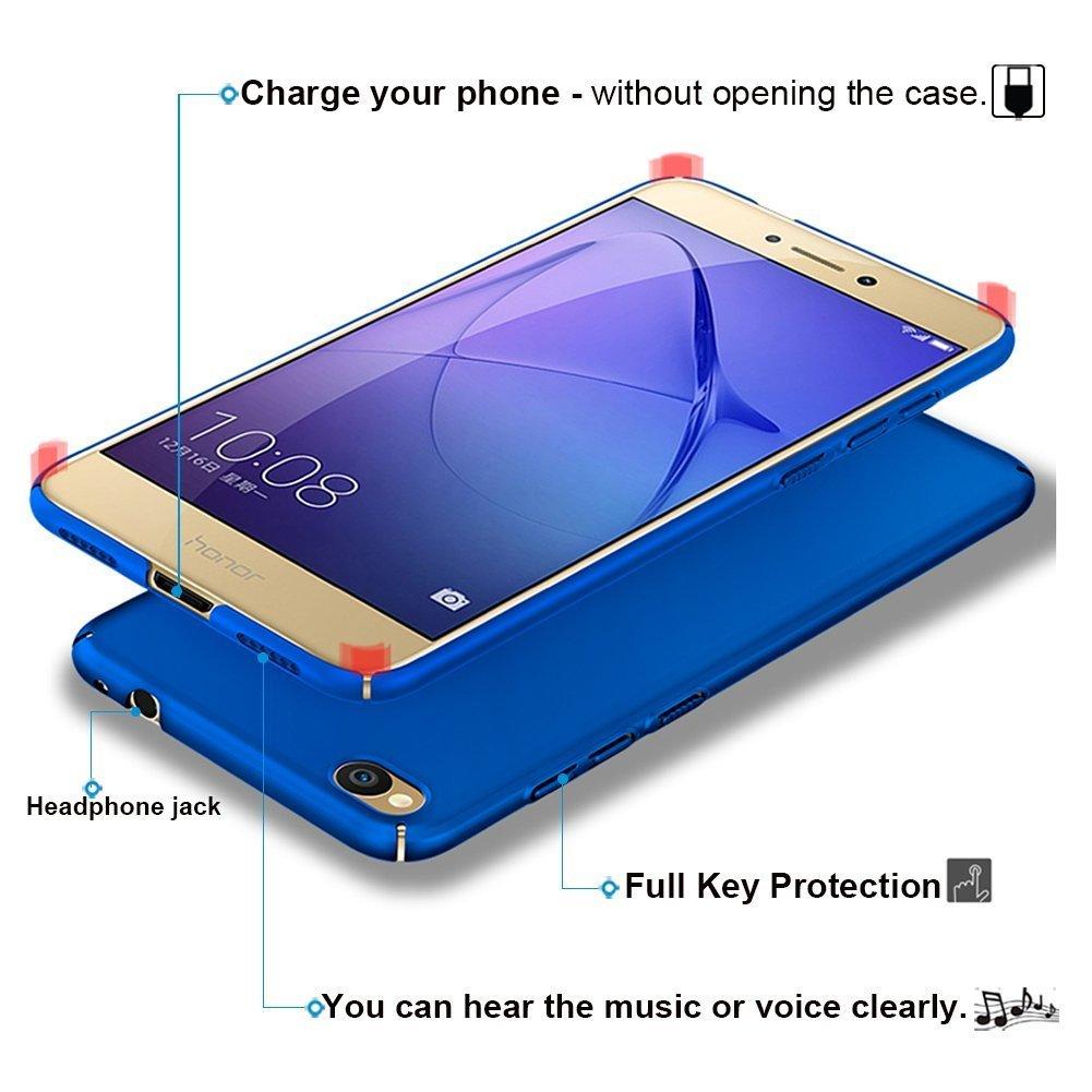 Wouier Funda Huawei P8 Lite 2017 con Bumper Carcasa Pulgadas 360/° Case Anti-Rasgu/ños Estuche PC Ultrafina Slim Protectora Caso de la Cubierta para Huawei P8 Lite 2017