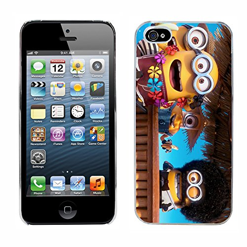 Moi moche et méchant Despicable Me Minions Film cas adapte iphone 5 couverture coque rigide de protection (22) case pour la apple i phone