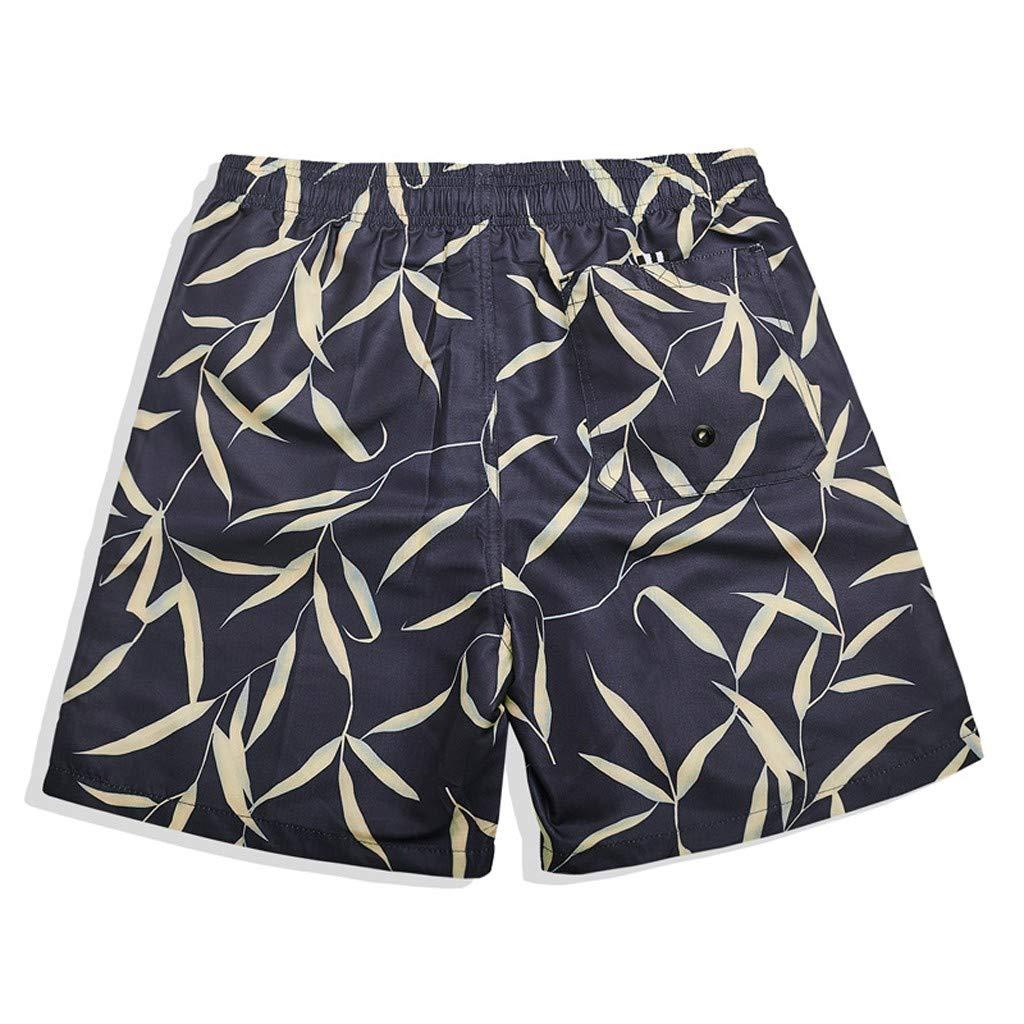 Yajiemen Mens Swim Trunks Quick Dry Board Shorts Summer Holiday Party Beachwear Swimwear Boys Short Watershorts Mesh Lining