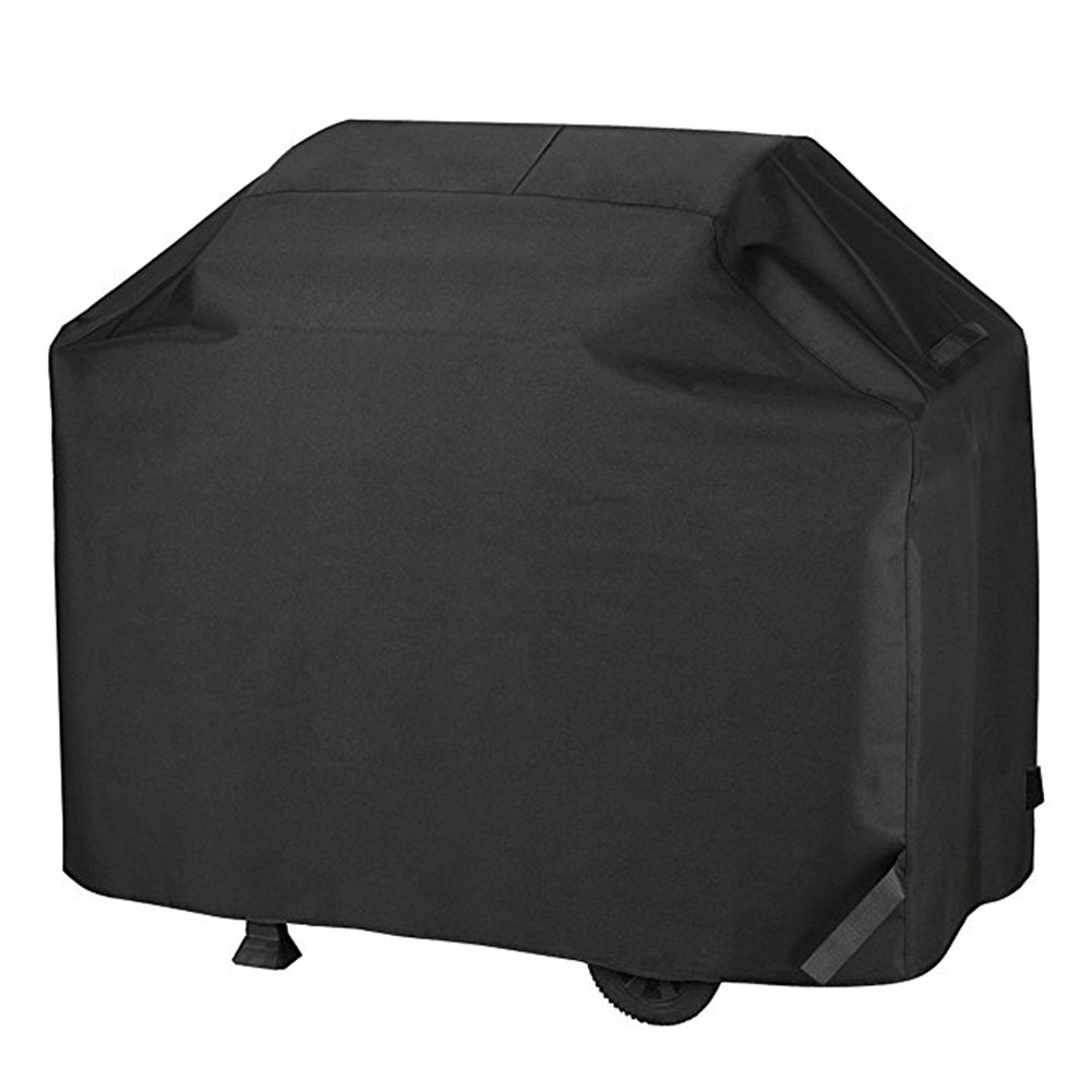 BBQ Grill Cover Heavy Duty Waterproof Gas Grill Cover for Medium 58-Inch Fit Weber, Charbroil Other Most Brands Of Outdoor Stainless Grill.