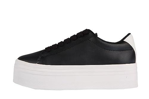 half off best website cheap prices Jeffrey Campbell Play JC Stan Platform Sneaker Black/White ...