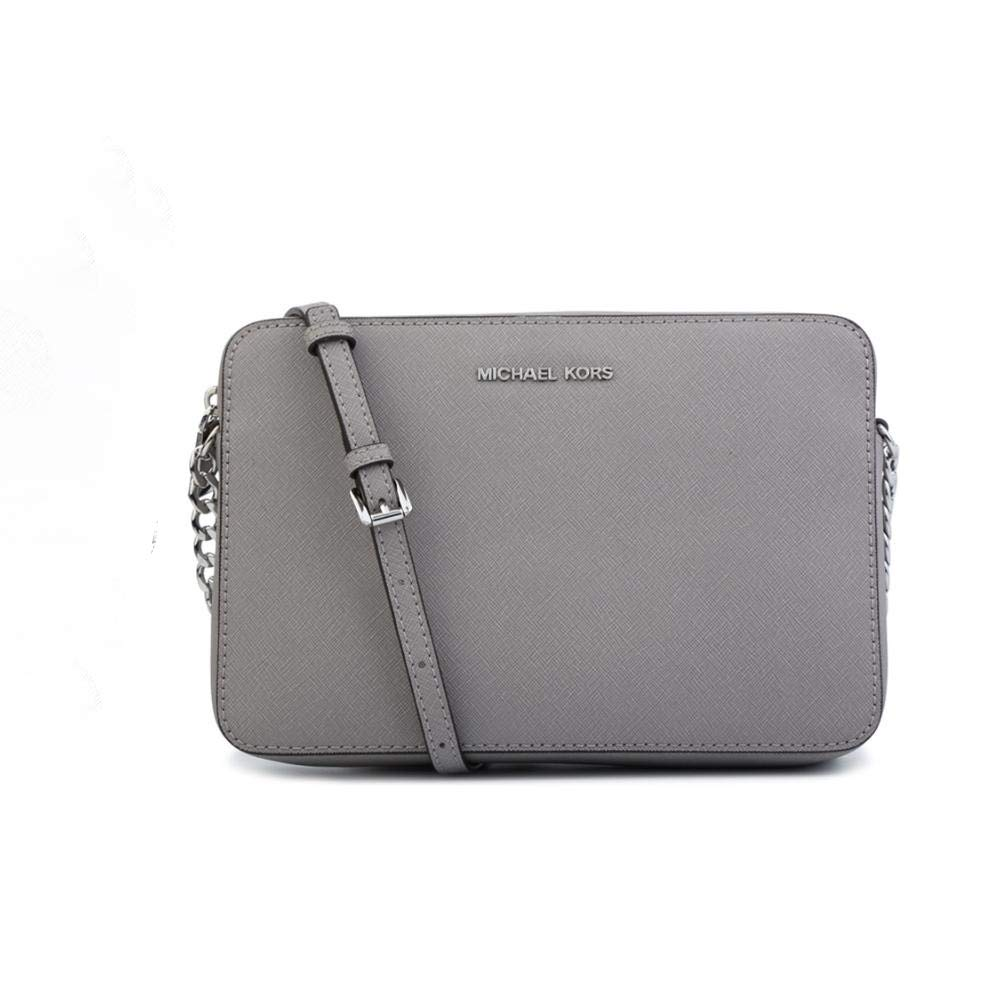 Galleon - MICHAEL Michael Kors Women s Large East West Cross Body Bag (Ash  Grey) 7a4dee42cd7ea