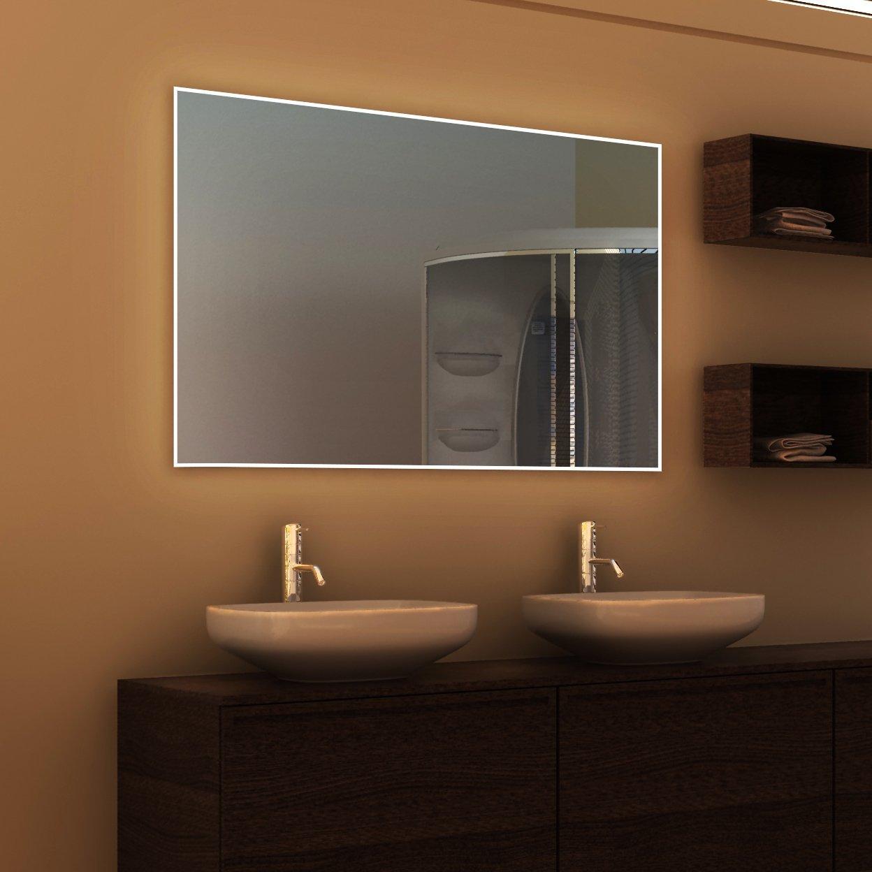 Siena Design - LED BADSPIEGEL mit Beleuchtung - Made in Germany ...