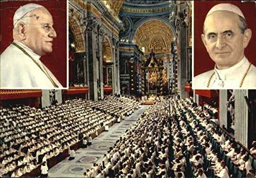 (Concilio Ecumenico, S. Pietro Original Vintage Postcard)
