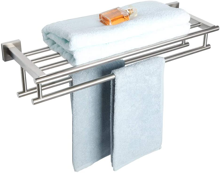 Alise Stainless Steel Towel Rack For Small Bathroom