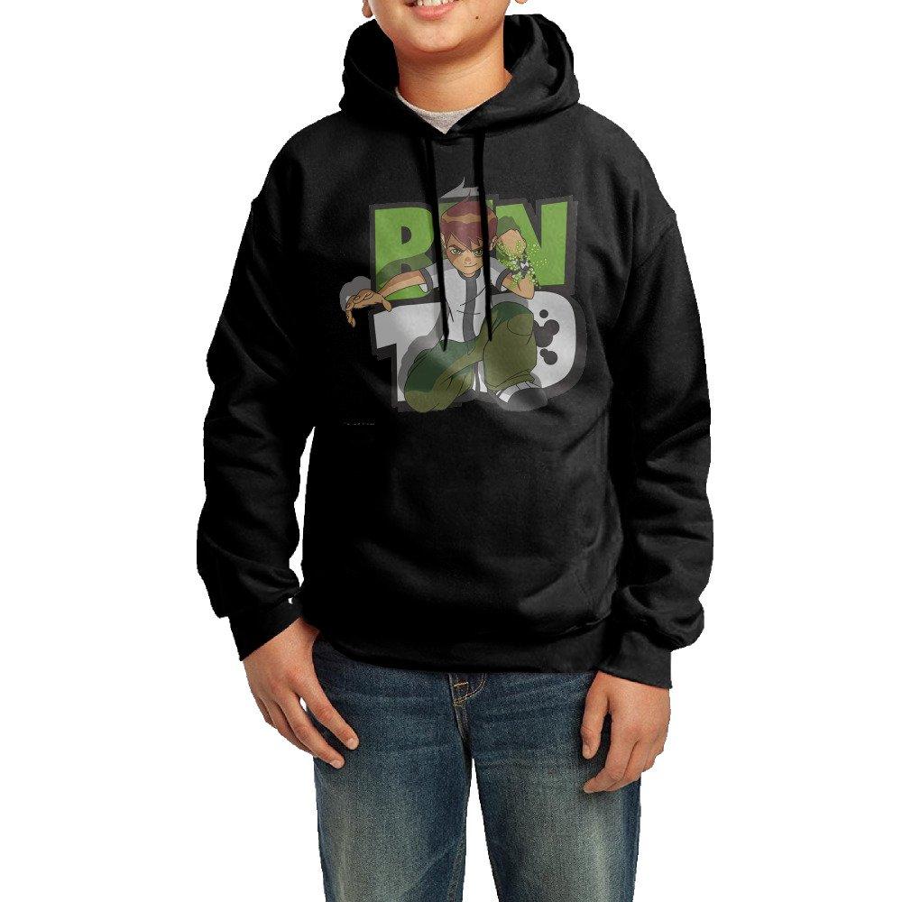 Ben 10 Cartoon Comics Boys/Girls Classic Pullover Athletic Sweatshirt Hoodies B01N630XSM
