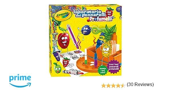 Crayola 25 – 7240 – Laboratorio de rotuladores profumelli (versión en italiano)