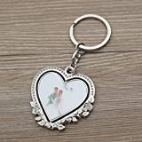 Personalized Spinning Wedding Keychain Favor
