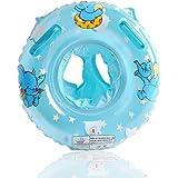 UClever Flotador con Manija para Bebé 6-36 mes Elefante (Azul)