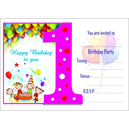 Birthday invitation cards buy birthday invitation cards online at birthday invitation card on metallic sheet pack of 50 cards nbc 001 filmwisefo