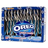 These black and white candy canes really do taste like classic Oreo cookies! Now you can have your favorite Oreo Cookie in a Candy Cane just in time for the hoidays! 12 canes per box. 2 boxes per order.