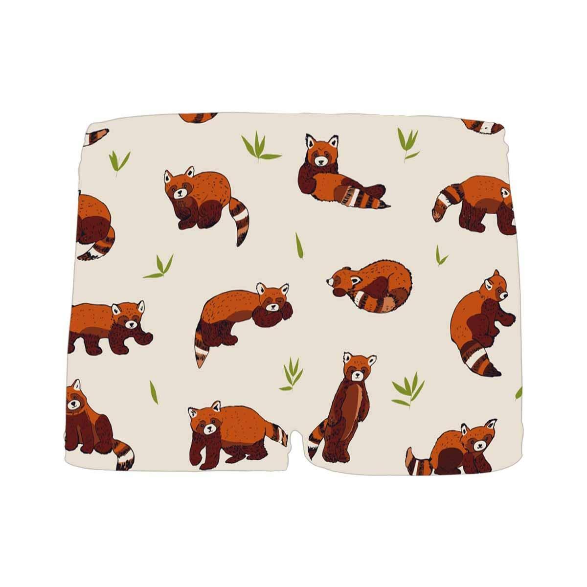 INTERESTPRINT Kids Cute Red Panda Animal Cartoon Comfortable Breathable Briefs 5T-2XL