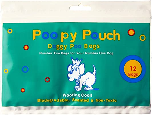 POOPY POUCH Doggy Poo Disposal Bags 144 Pack