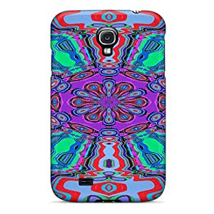 [pstlW5344YenUQ]premium Phone Case For Galaxy S4/ Psychedelic Mandala Tpu Case Cover