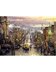 [Puzzle Life] San Francisco | 1000 Piece - Large Format Jigsaw Puzzle. Can be Enjoyed Puzzle Game by All Generation. Beautiful Decoration, Pleasant Play.