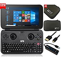 GPD WIN-Gift Bundle Version Aluminum Shell Intel X7-Z8750 Gamepad Laptop NoteBook Tablet PC 5.5 Handheld Video Game Console Windows 10 Bluetooth 4.1 4GB/64GB