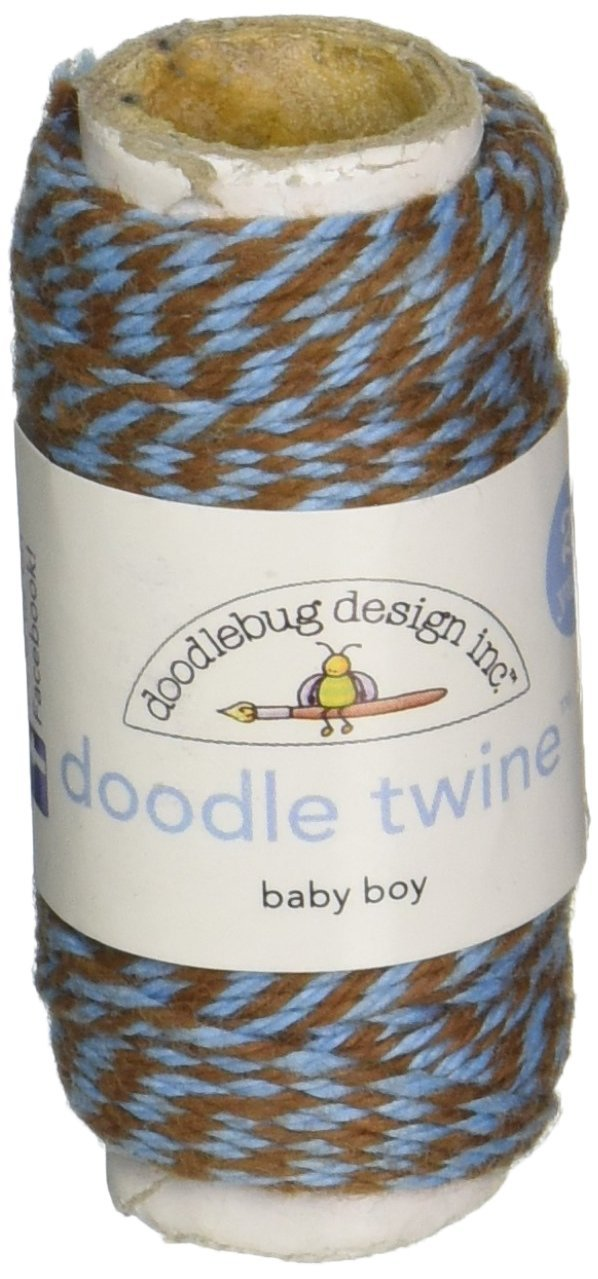DOODLEBUG Doodle Twine Singles 20yds-Baby Boy
