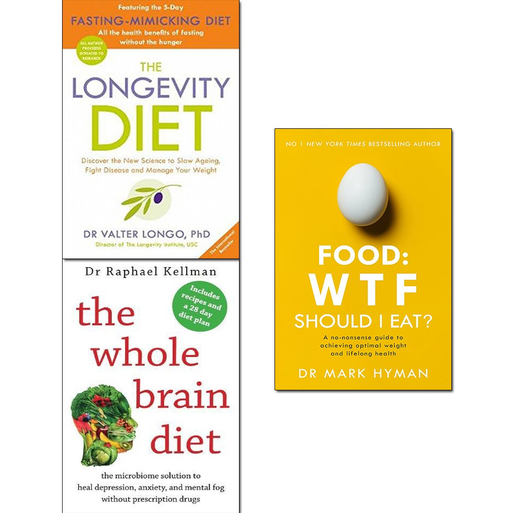 Download Longevity diet, food wtf should i eat and whole brain diet 3 books collection set ebook