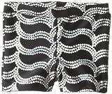 Danskin Little Girls' Sparkle Short, Rich Black, Small/Intermediate