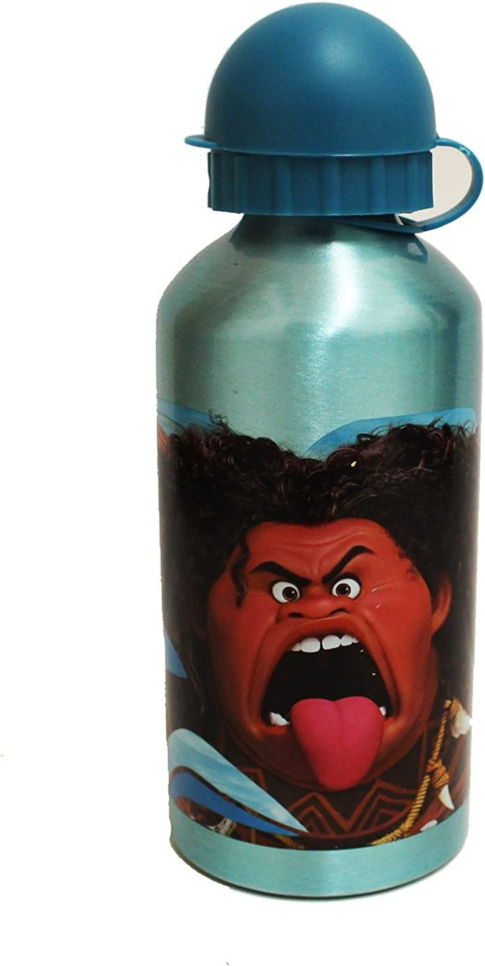 Blau Disney Vaiana Moana Aluminium Trinkflasche mit Farbauwahl