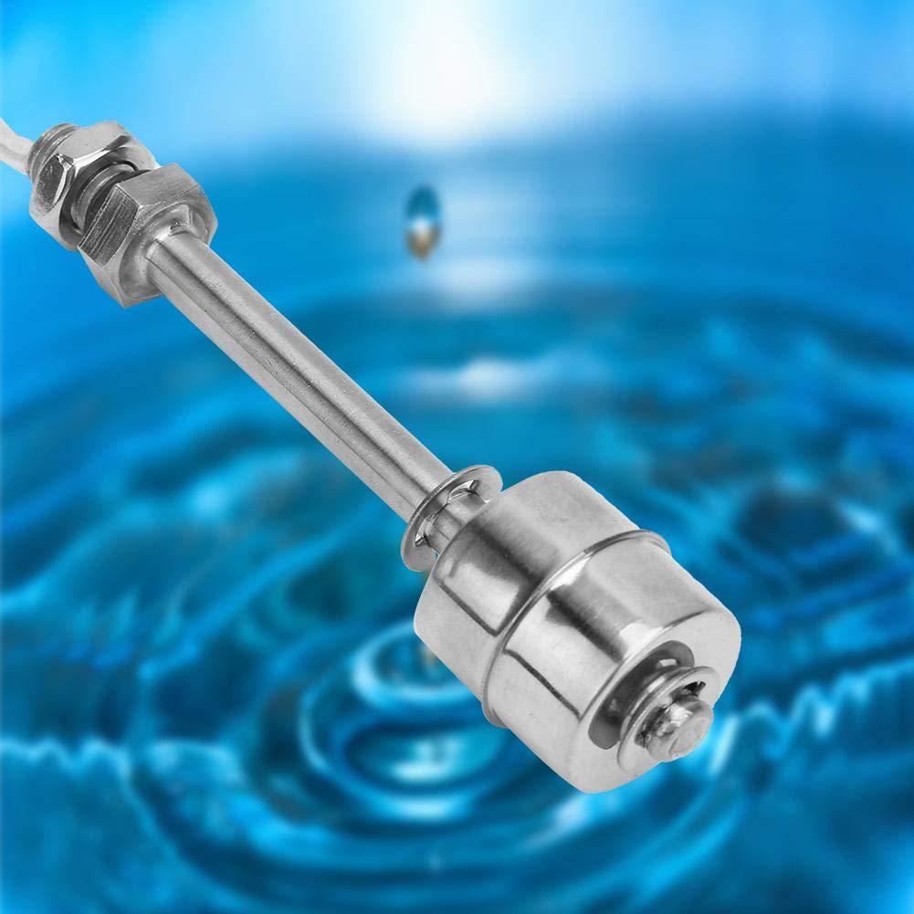 Sensor de nivel de l/íquido el interruptor de flotador del sensor de nivel de agua l/íquida de acero inoxidable 0~220V para piscina puede 100 mm