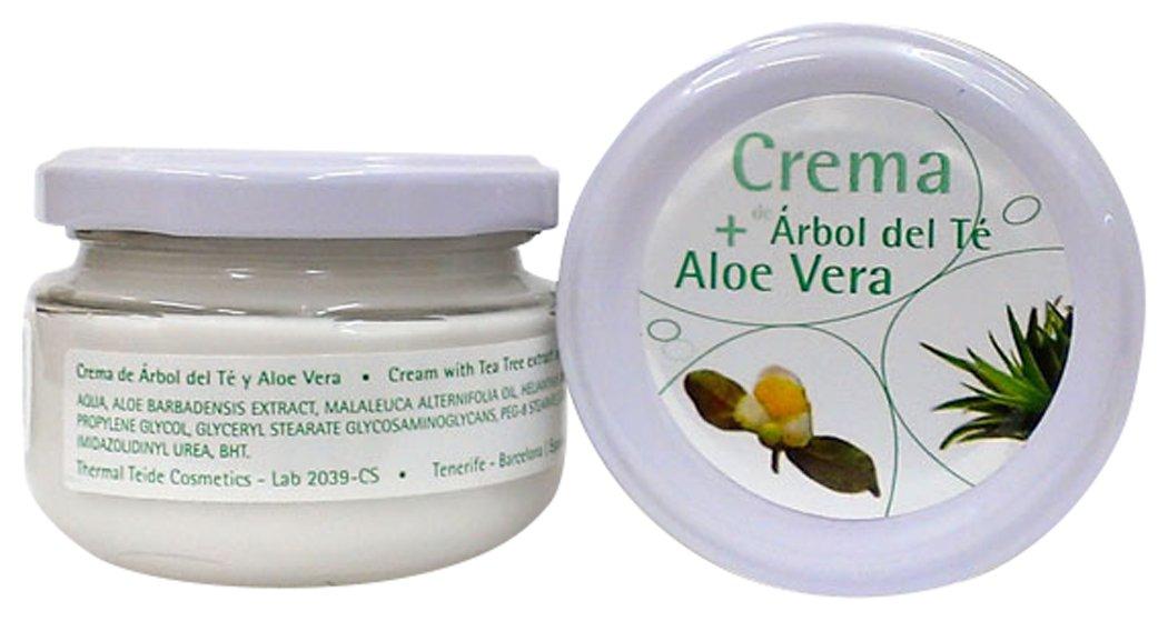 Thermal Teide 160100 - Crema de árbol del té y aloe vera Cosmonatura