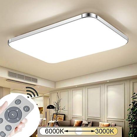 12W//64W LED Deckenleuchte Panel Deckenlampe Badlampe Wohnzimmer Dimmbar Küche