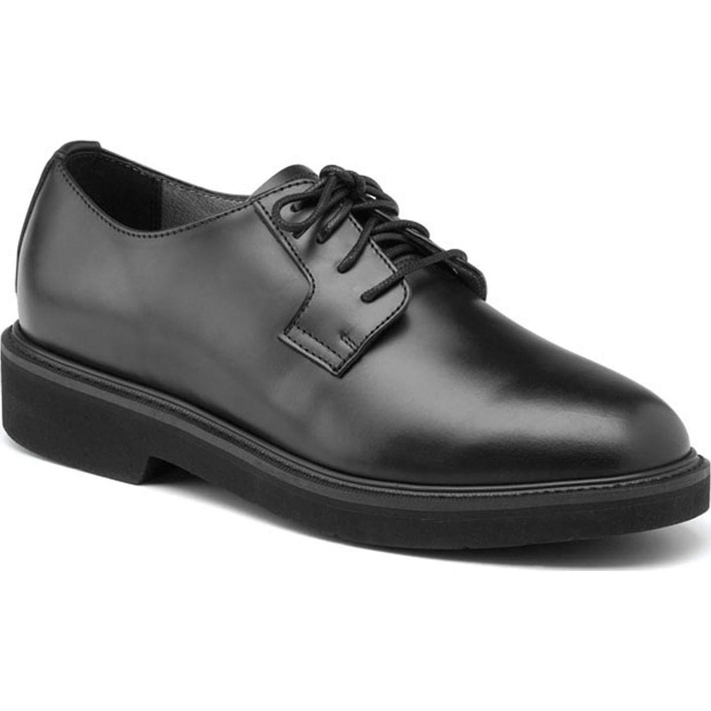 Rocky Work Shoes Mens Polishable Dress Leather Oxford Black FQ00511-8