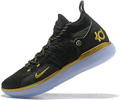 Kevin Durant KD 11 Zoom Black Gold Chaussure de Basket Homme