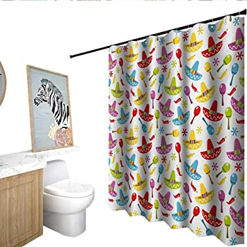 Image Unavailable Not Available For Color Fiesta Shower Curtain